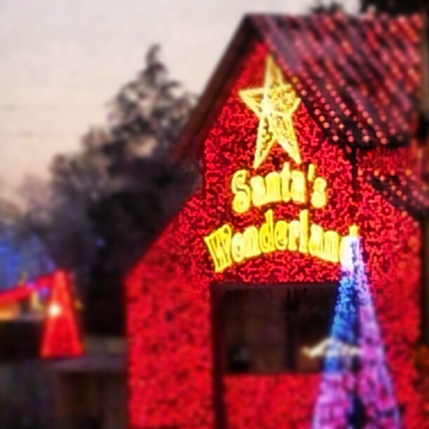 Santa s wonderland a dazzling display not to be missed