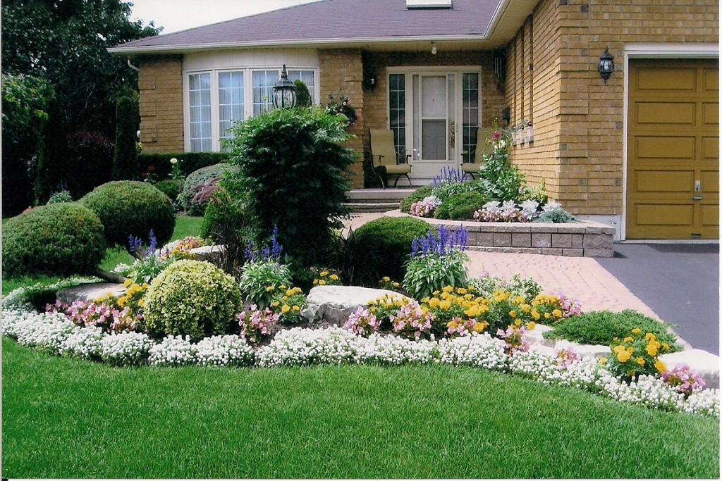 Small Front Yard Curb Appeal Garden Design Garden Design With Landscape Design Front Yard Curb